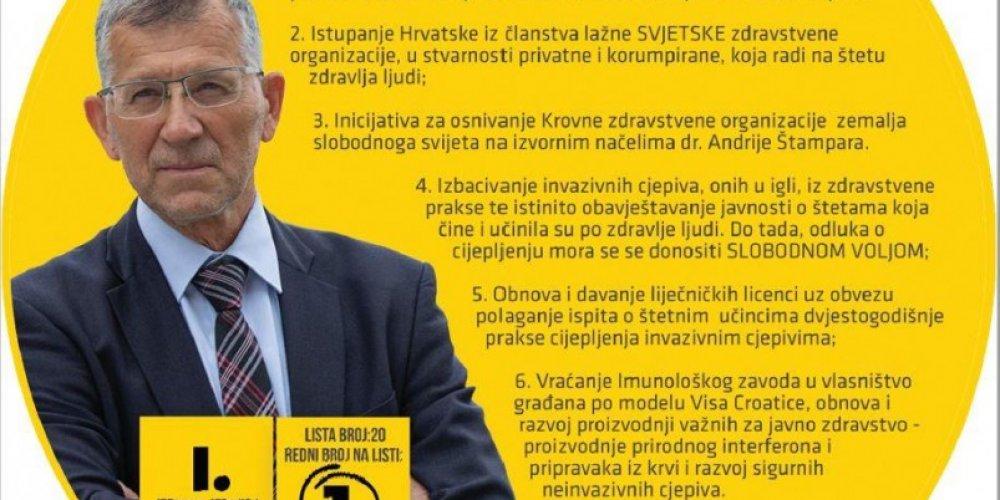 Srećko Sladojev o virusu, maskama i izborima