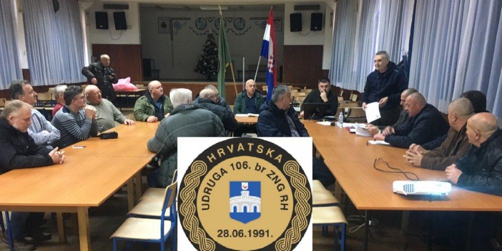 Redovna skupština Udruge 106. brigade.