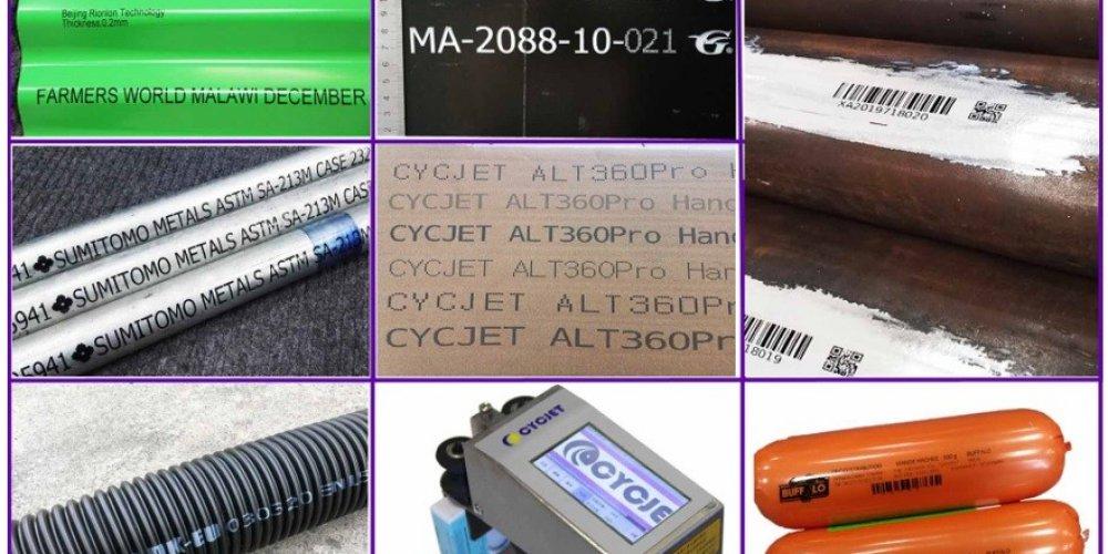 Las diferentes tecnologías de la impresora manual de inyección de tinta CYCJET