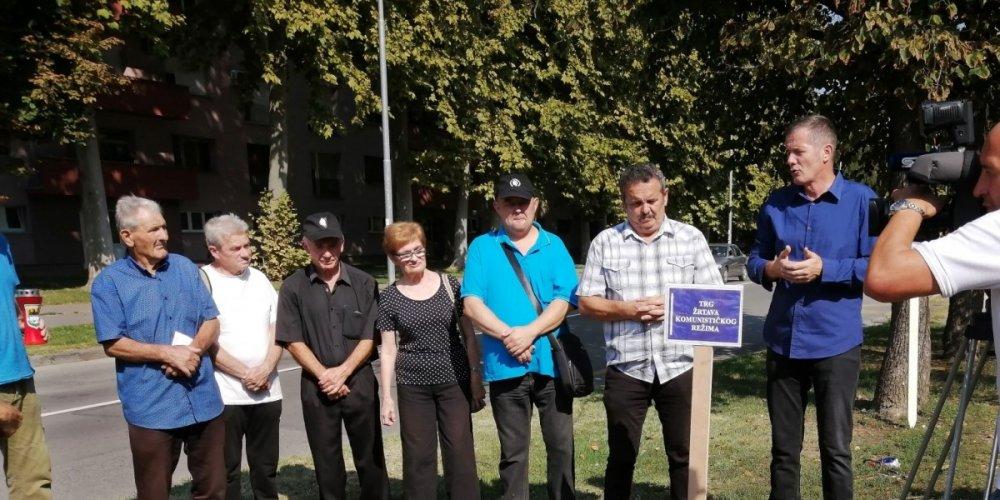 """HSP obilježio Europski dan sjećanja na žrtve totalitarnih režima. Tražimo """"Trg žrtava komunističkog režima"""""""