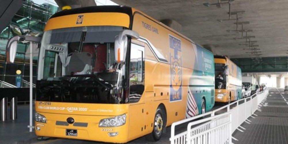Avec Mowasalat (Karwa), Yutong Bus fournira des services de transport lors de la Coupe du Monde des clubs de la FIFA 2020 au Qatar