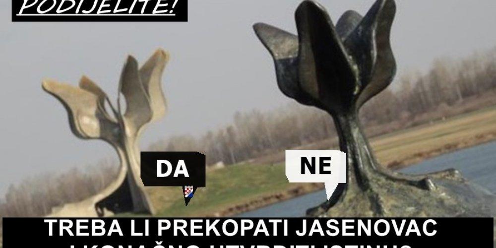 Treba li prekopati Jasenovac i konačno utvrditi istinu?!?