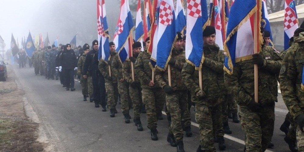 U Voćinu održano hodoćašće  hrvatskih branitelja, hrvatske vojske i policije