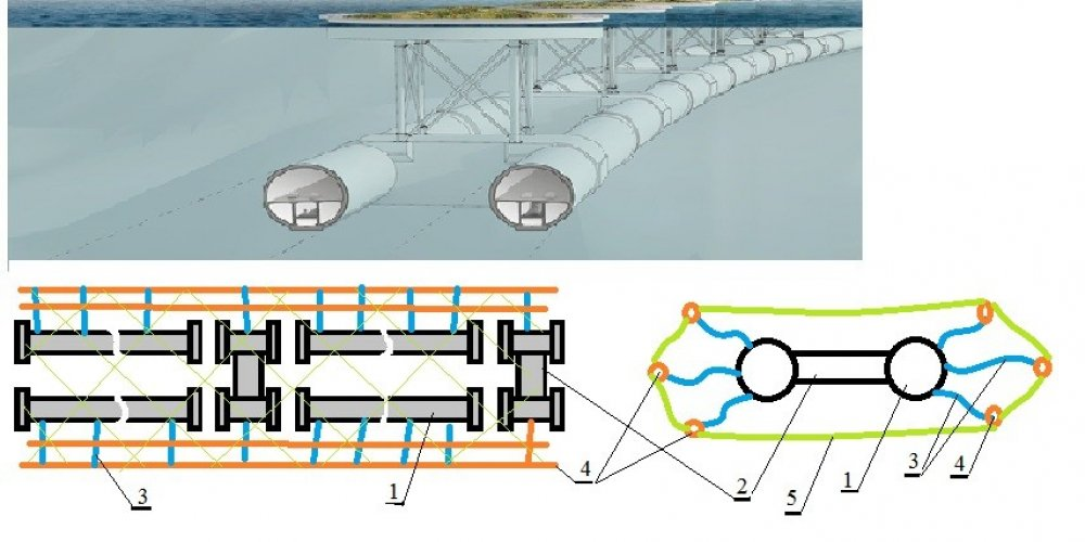 How to Serially Produce Floating Tunnels?