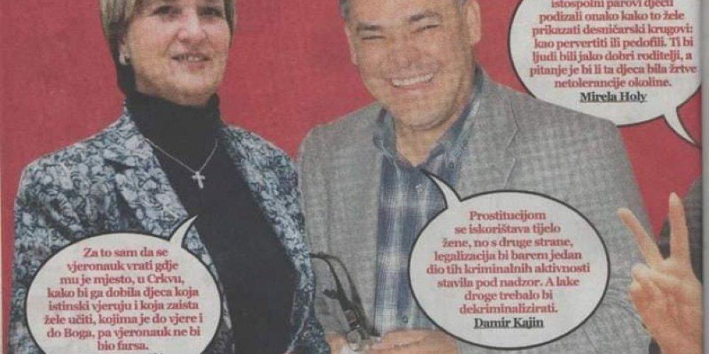 Je li Ruža Tomašić još uvijek protiv vjeronauka u školama???