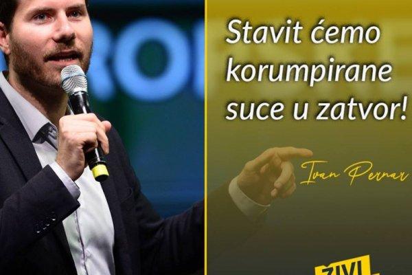 Ivan Pernar :  [CILJ JE DISKREDITACIJA POLITIČKIH OPONENATA
