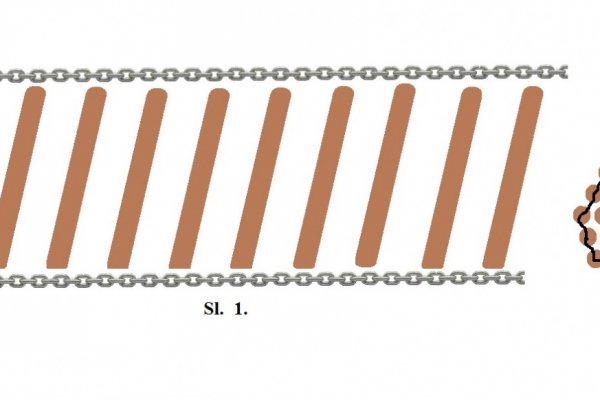 How to quickly make wide car chains as a ladder to cross over mud?