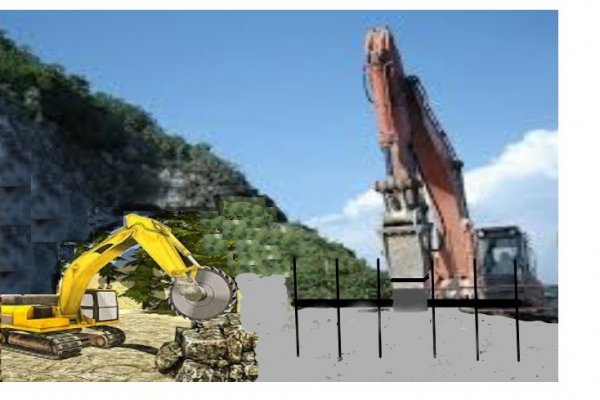 How to turn a dredger into a stone block production machine?