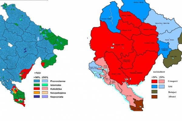 Kronologija sukoba Crnogoraca i  Srba