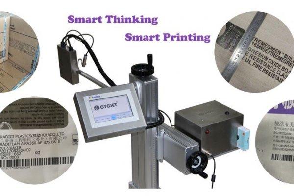 Impresora automáticade inyección de tinta de caracteres grandes CYCJET en la industria del embalaje exterior