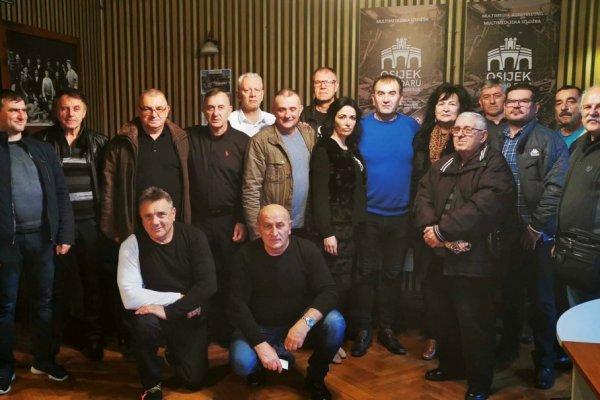 Svečana sjednica i Božićni domjenak Heroja Osijeka