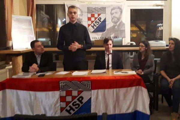 """Mladi pravaši """"preuzeli"""" Podružnicu Delnice, Ivan Piškor izabran za predsjednika podružnice!"""