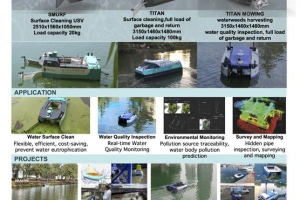 Orcauboat Waters Schoonmaak Robots, brengt nieuwe marktkansen