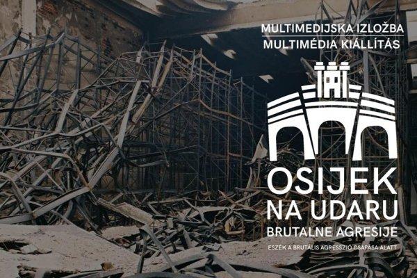 Svečano otvorenje izložbe o ratnom stradanju Osijeka 15. listopada u Budimpešti