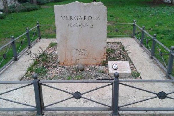 VERGAROLA , SJEĆANJE na nevine žrtve eksplozije 18. kolovoza 1946.godine