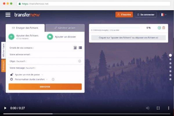 TransferNow : Le moyen pratique de transférer et de partager des fichiers volumineux