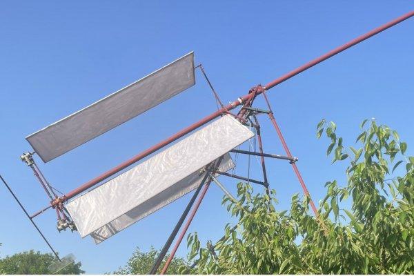 Vjetrenjača sa mogućim brzim podizanjem ili spuštanjem rotora.